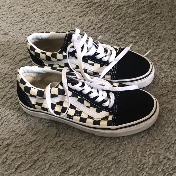 Vans Checkered Old Skool Black & White